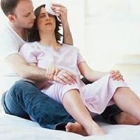 Хорошо, когда рядом любимый муж.