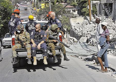 Американцы присматривают на Гаити место получше для своей будущей военной базы?