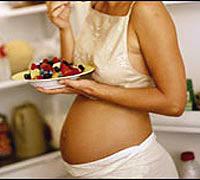 - Хорошо быть беременной - никакие диеты не нужны!