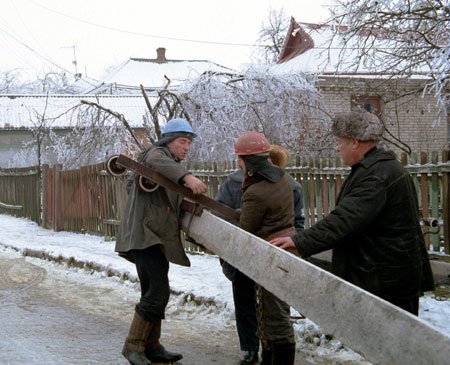 Больше всего от стихии пострадали жители частных районов.