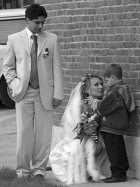 - Сынок, не волнуйся, мой муж станет тебе отличным папой! Я его долго выбирала!