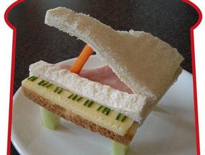 Высший пилотаж кулинарного искусства: сэндвич-рояль. Фото: Funkylunch.com