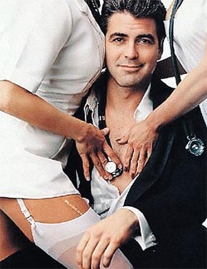 В Голливуде уже заключают пари - женится ли Клуни до своего пятидесятилетия.