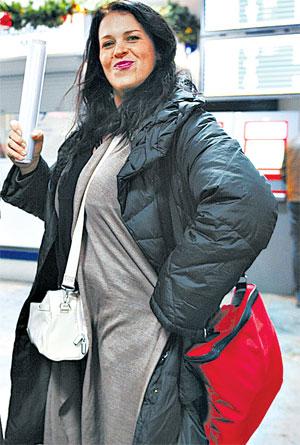 Писанка пообещала проводить в Буэнос-Айресе тренировки по аэробике.