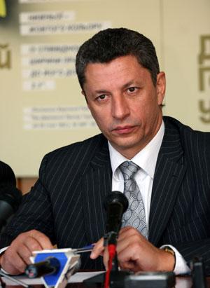 Оппозиционный министр топлива и энергетики Юрий Бойко.