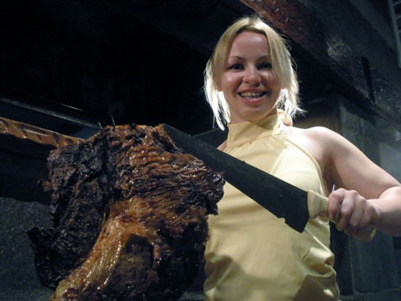 Ирине Мерлени южноамериканские мясные продукты по вкусу.