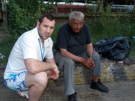 Владимир Вирчис подружился с аргентинским нищим.