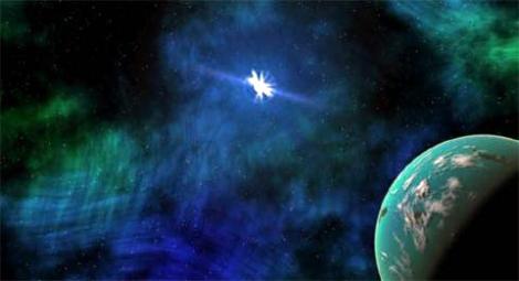 Возле пульсаров тоже могут располагаться планеты, но едва ли они пригодны для жизни. Фото membrana.ru.