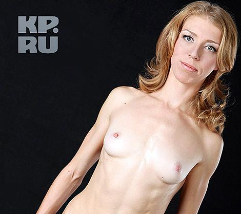 Российская биатлонистка Елена Хрусталева снялась в более чем откровенной фотосессии. Фото pressball.by.
