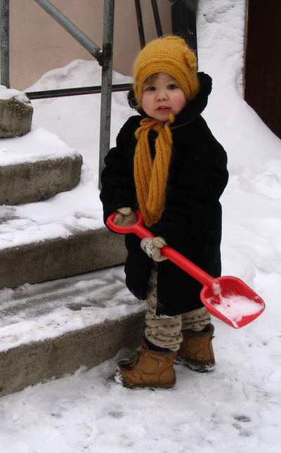 - Ну, что плохого в снеге? Главное - убирать вовремя!