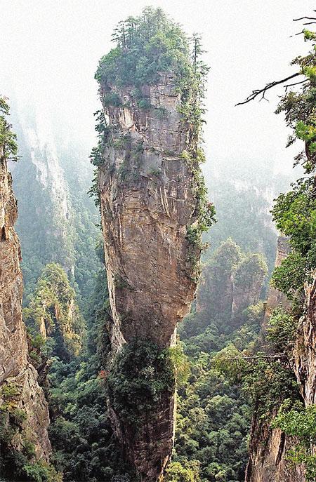 Настоящие горы Китая.