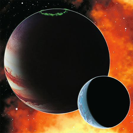 У других звезд обитаемыми могут быть не планеты, а спутники газовых гигантов.
