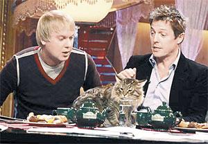 Светлаков попросил Гранта приструнить толстого останкинского кота.