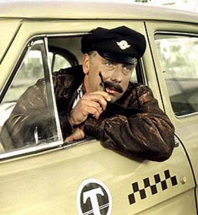 Ну, а уж если у водителя усы отклеиваются - это точно липовое такси! Фото с сайта www.volynnews.com