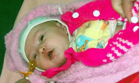 Пока маленькая Зося находится в больнице. Но ее жизни ничего не угрожает.