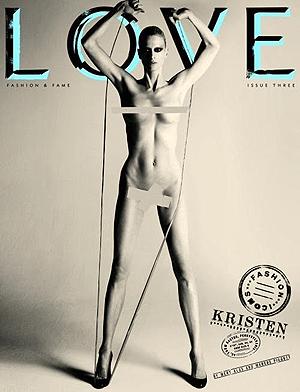 Кристен Макменами. Фото: LOVE magazine.