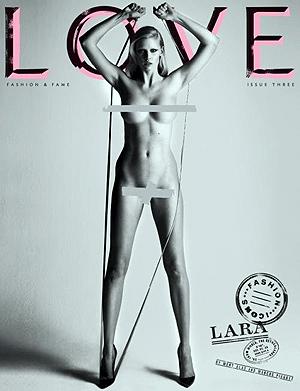 Лара Стоун. Фото: LOVE magazine.