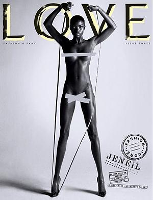 Дженеил Уильямс. Фото: LOVE magazine.
