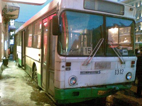 Пассажирский автобус сбил 14 человек. Фото: kp.ru, автор Александр ЛЕОНОВ