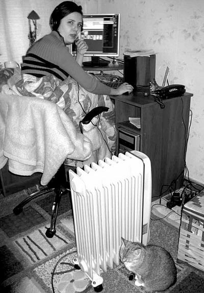 На всякий случай стоит запастись обогревателем.Фото Марианны ПОПОВИЧ.