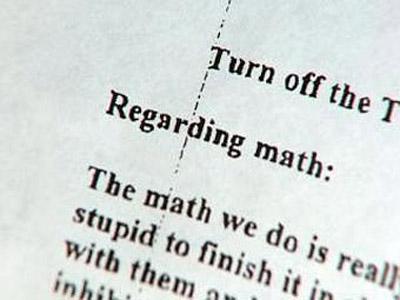 Фрагмент того самого письма. Фото с сайта lenta.ru.