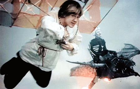 «На златом крыльце сидели» - самый удачный советский стереофильм. Но Змей Горыныч здесь послабей драконов «Аватара».