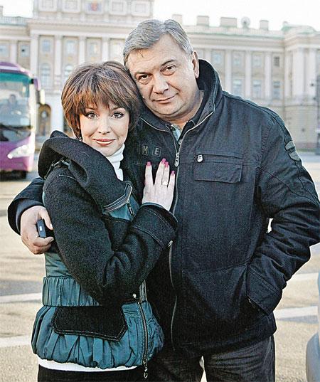 Анна Самохина с другом - актером Сергеем Кошониным.