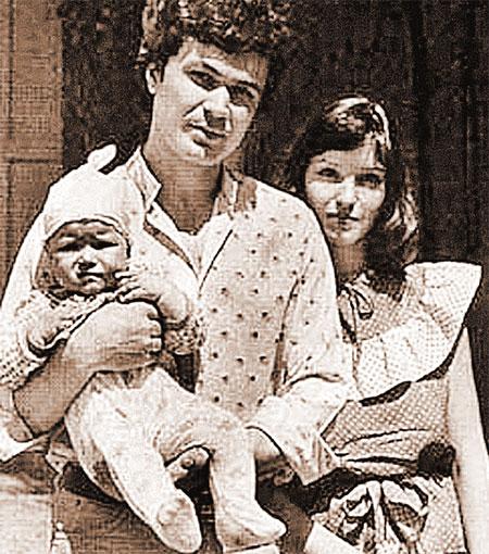 Первому супругу Александру Самохину актриса подарила дочку и прославила фамилию мужа.