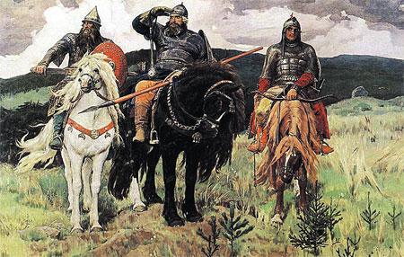 Русских не удалось защитить от всех чужеродных генов - польские и немецкие все-таки пробрались.