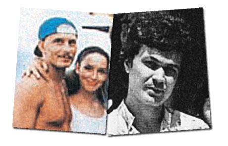 Первый муж Анны Александр (фото справа) был ее однокурсником по Ярославскому театральному училищу. Второй (слева) - бизнесменом, владел кафе в Питере.