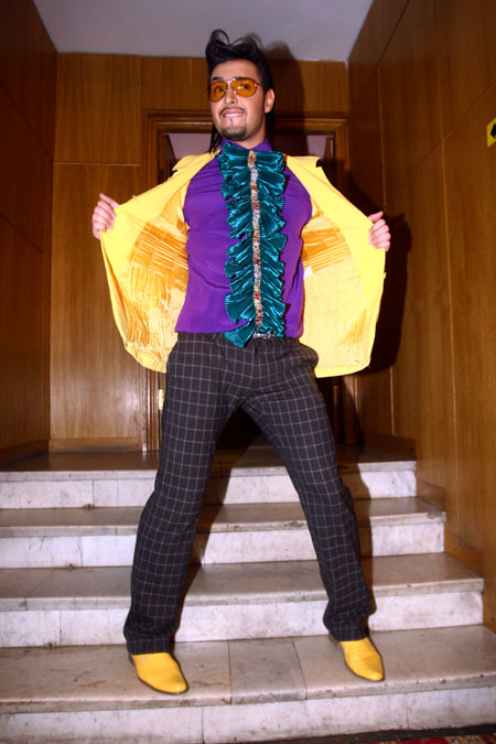 Виталий Козловский устроил «Дикі танці» за кулисами.