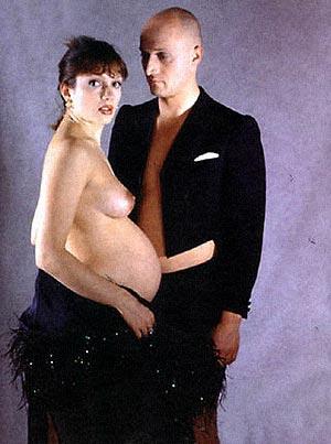 Когда Мария ждала Полину, Гоша Куценко уговорил ее сняться обнаженной.