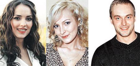 Цыганские страсти разыгрывали (слева направо): Юлия Зимина, Наталия Рогоза, Максим Щеголев.