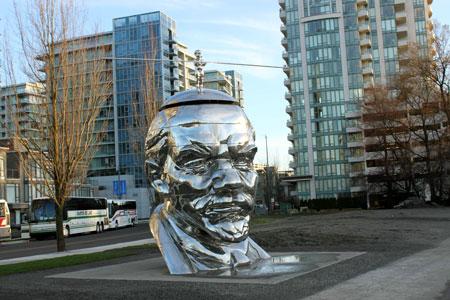 Памятник Ленину в Ричмонде.