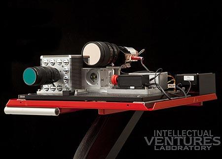 Новая лазерная пушка, собранная из б/у деталей.