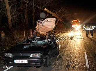 Последствия урагана в Испании. Фото: с сайта dw-world.de