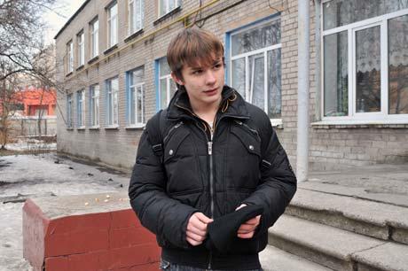 Сергей Цаприка - один из тех школьников, кого задержали люди в погонах.
