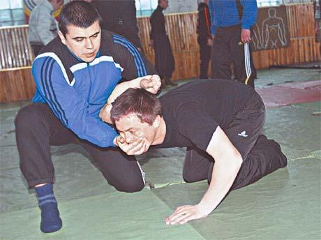 Боевая подготовка в училище – один из основных предметов.