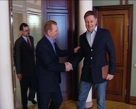 Кучма встретился со Стогнием и рассказал все, что думает о гибели генерала Кравченко.