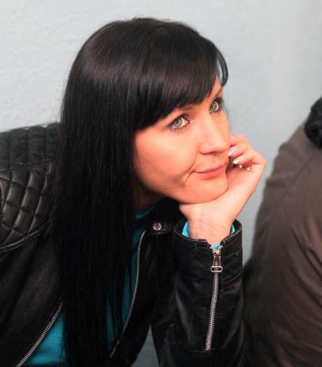 Украинская подруга Ван Дамма - Алена.