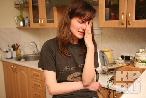 Юля била во все набаты, но ее не услышали. Фото: Тимур ХАНОВ