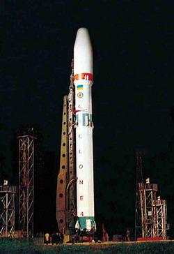 «Циклон-4» во всей своей красе! Фото с сайта Национального космического агентства Украины.