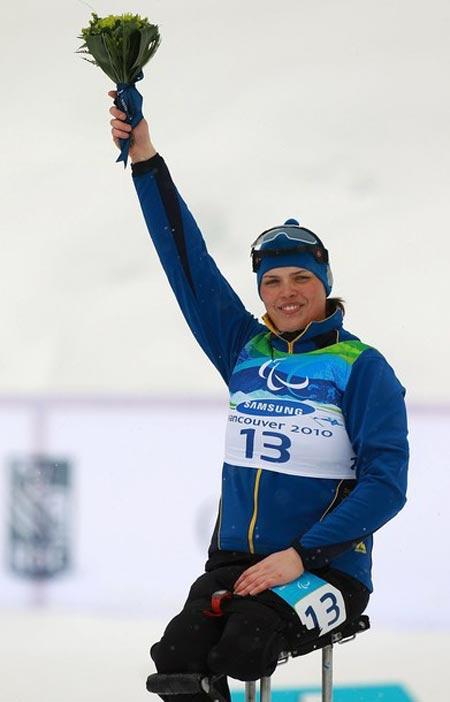Юрковская чертовой дюжины не боится! Свою золотую медаль она выиграла 13 марта, выступая под 13-м номером!