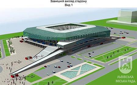 Таким львовский стадион должен быть (на фото сверху), и так он выглядит сейчас.