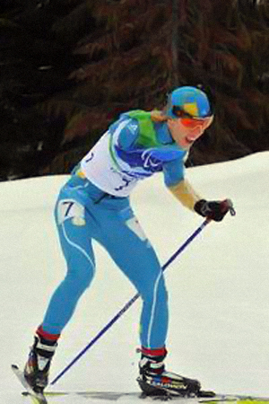 Юлия Батенкова стала «серебряной».