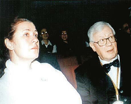 С первым мужем Юрием Саульским.