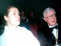 Певица называла первого мужа, Юрия Саульского (на фото), своим Учителем.