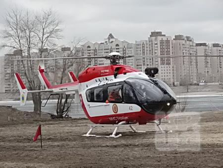 ...и вертолетах.