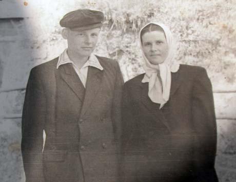 Алексей и Надежда поженились после войны.