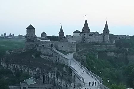 Каменец-Подольская крепость знаменита казематом Кармелюка.